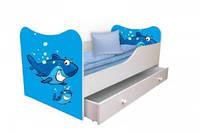 """Детская кровать"""" Акула """""""