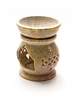 Аромалампа из мыльного камня (9,5х7х7 см)