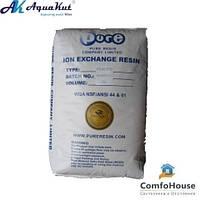 Ионообменная смола PMB101-2 (H+/OH-) объем 25л (20 кг) (засыпка для умягчения)