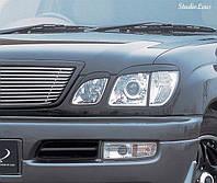 Реснички Lexus LX 470, Накладки на фары Лексус ЛХ 470