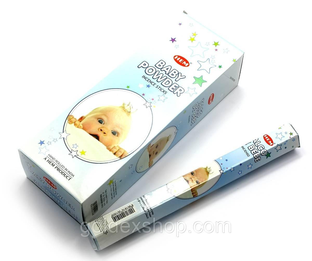Baby Powder (Детская присыпка) (Hem) шестигранник, аромапалочки