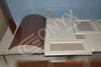 изготовление и покраска витрин под стекло и радиусных (гнутых) фасадов