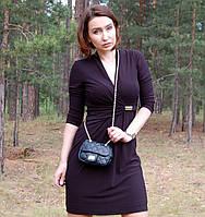 Платье ELLEN TRACY  базовое  с драпировкой дресскод офис (S/М)