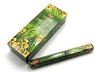 Ginger Green Tea (Зеленый Чай с Имбирем) (Hem) шестигранник, аромапалочки
