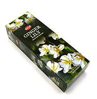 Ginger Lily (Имбирь с Лилией) (Hem) шестигранник, аромапалочки