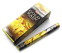 Gold Rain (Золотой дождь) (Hem) шестигранник, аромапалочки