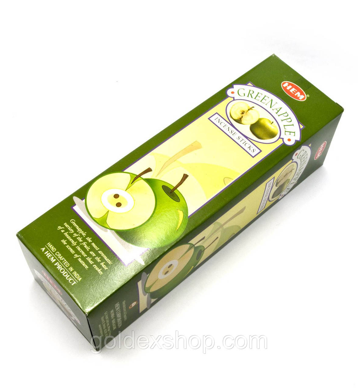 Green Apple (Hem) квадрат, аромапалочки