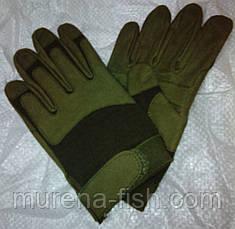 Mil-Tec Милтек перчатки армейские olive олива военные, фото 2