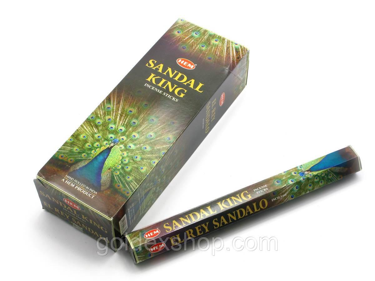 Sandal King (Король Сандала) (Hem) шестигранник, аромапалочки