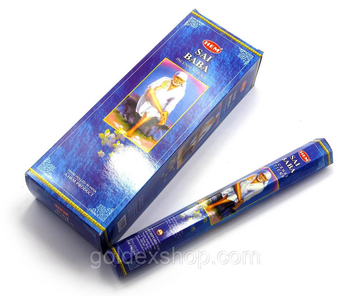 Sai Baba (Сай Баба) (Hem) шестигранник, аромапалочки