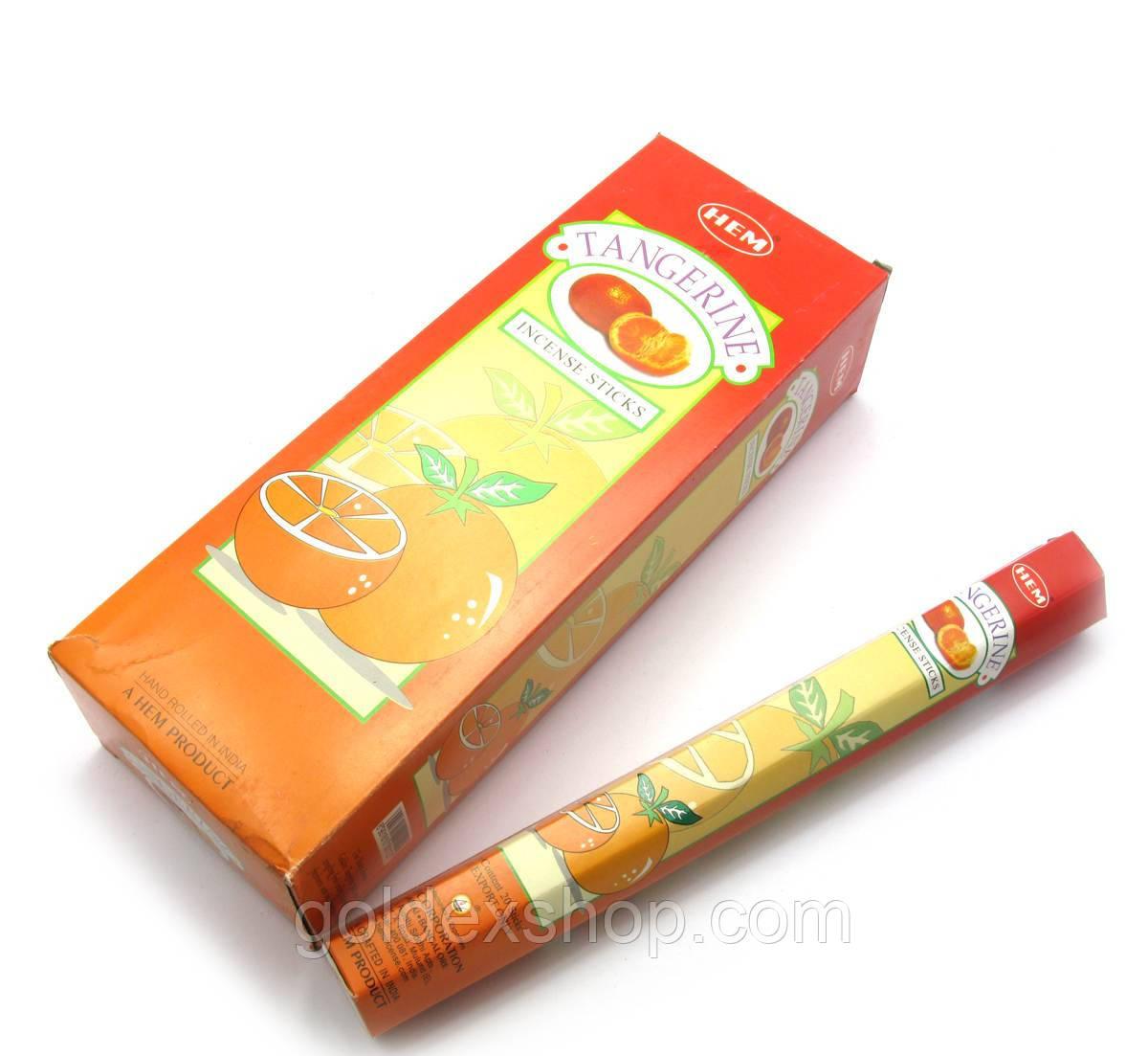 Tangerine (Мандарин) (Hem) шестигранник, аромапалочки