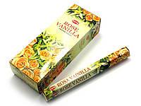 Vanilla Rose (Ваніль, Троянда) (Hem) шестигранник, аромапалички