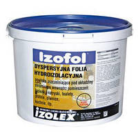IZOFOL Полимерная гидроизоляционная мембрана под керамическую плитку внутри помещения 12 кг