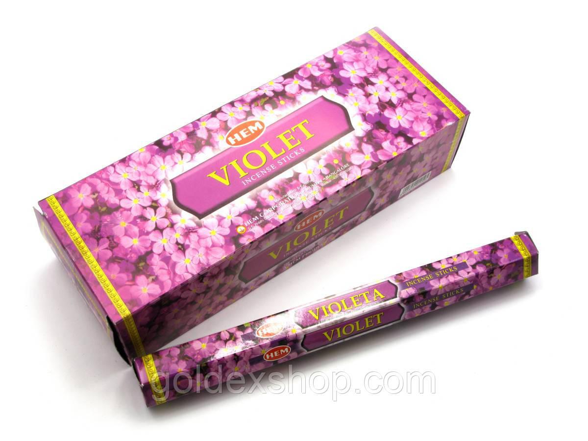 Violet (Фіалка) (Hem) шестигранник, аромапалички
