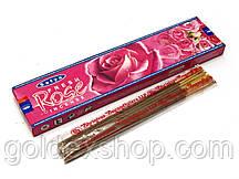 Fresh Rose (20 gms) (Satya) пыльцовое благовоние