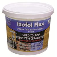IZOFOL FLEX Полимерная гидроизоляционная мембрана под керамическую плитку внутри и снаружи помещений 4 кг