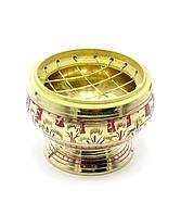Курительница бронзовая (6х6х4,5 см)
