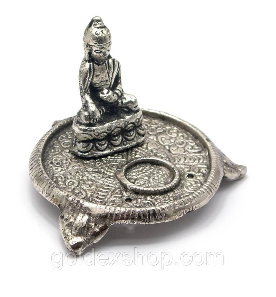 """Підставка під пахощі """"Будда"""" (6х9х9 см) (Непал)"""