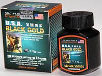 Американское Черное золото для потенции ( USA Black Gold Оригинал) 16капсул