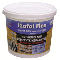 IZOFOL FLEX Полимерная гидроизоляционная мембрана под керамическую плитку внутри и снаружи помещений 12 кг