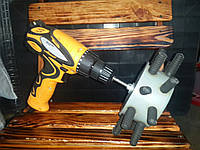 """Насадка на дрель  """"Перун 110 light"""" для ощипки бройлеров"""