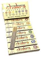 Chakra Collection (7 Чакр) (15 gms) (Mother nature products) (набор 7 пачек) пыльцовое благовоние