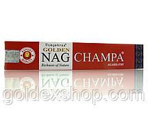 Golden Nag Champa (Vijashree) (15 гр.)пыльцовые благовония