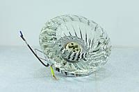 Точечный светильник Feron JD85 G9 прозрачный хром