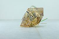 Точечный светильник Feron CD2718 G9 янтарный хром
