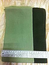 Маленький оливковый шарф  110Х15 см