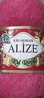 Пряжа Кид мохер (Ализе, Турция) цвет - ягода №536