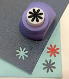 Дирокол фігурний Квітка кнопка 1,8 см, фото 2