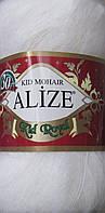 Пряжа Кид мохер (Ализе, Турция) цвет - молочный № 62