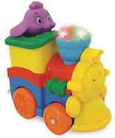 Развивающая игрушка Kiddieland Паровозик Слоника (53462)