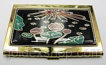 "Визитница ""Золото"" (9,5х6,5х0,5 см)19310 C"