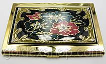 """Визитница """"Золото"""" (9,5х6,5х0,5 см)19310 I"""