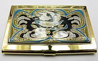 """Визитница """"Золото"""" (9,5х6,5х0,5 см)19310 M"""