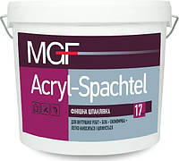 Шпаклевка финишная MGF Acryl-Spachtel 17кг