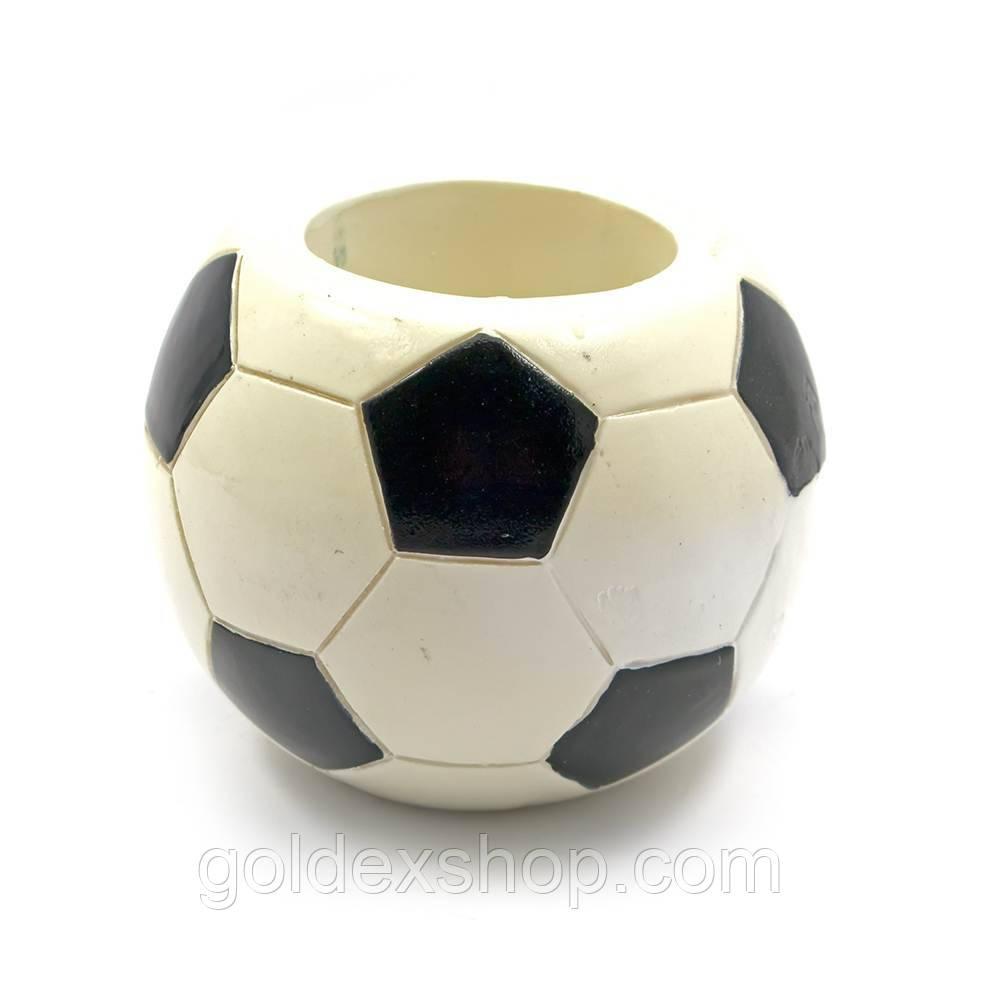 """Подставка для ручек """"Футбольный мяч"""" (d-8 см) (W52006)"""