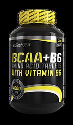 BioTech USA BCAA+B6 200 tabs