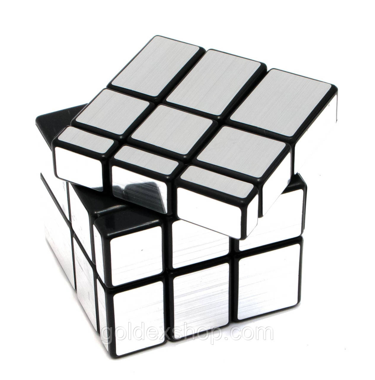 """Головоломка """"Зеркальный Куб"""" """"Серебро"""" (6х6х6 см)"""