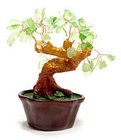Дерево с зелеными камнями (15х16х14 см) (801-804)