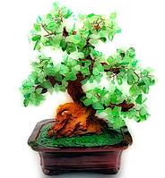 """Дерево щастя """"Бансай з камінням (висота 33 см)"""