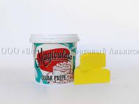 Мастика - сахарная паста для обтяжки Magic Colours - Жёлтая - 1 кг