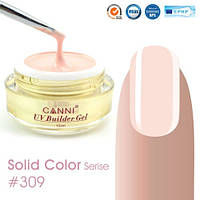Конструирующий гель Canni 309 Light Nude, 15 мл, фото 1
