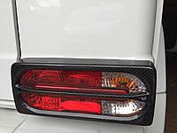 Карбоновые накладки на задние фонари Mansory Mercedes G-Class