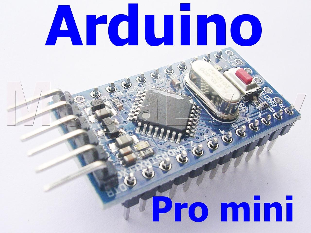 Arduino pro mini atmega p v МГц продажа цена в