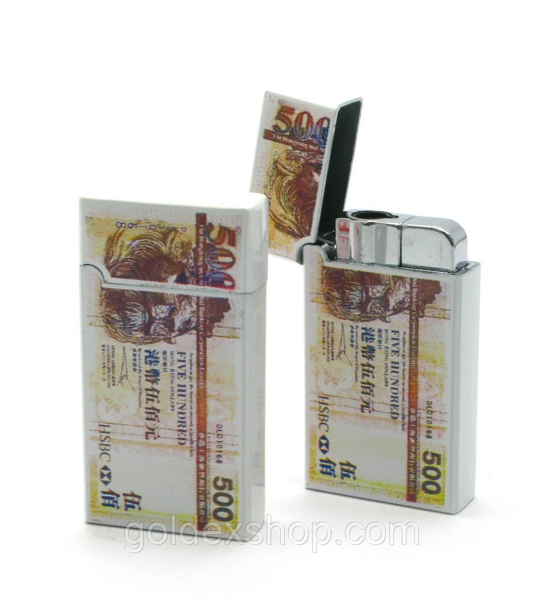Зажигалка газовая турбо (6,5х3,5х1 см)