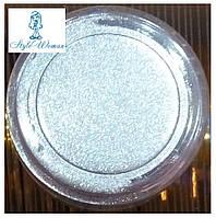 Зеркальная пудра для ногтей наоми №1 серебро naomi mirror powder