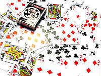 "Карты игральные пластиковые ""Poker playing cards"" (9,5х6,5х1,8 см)"